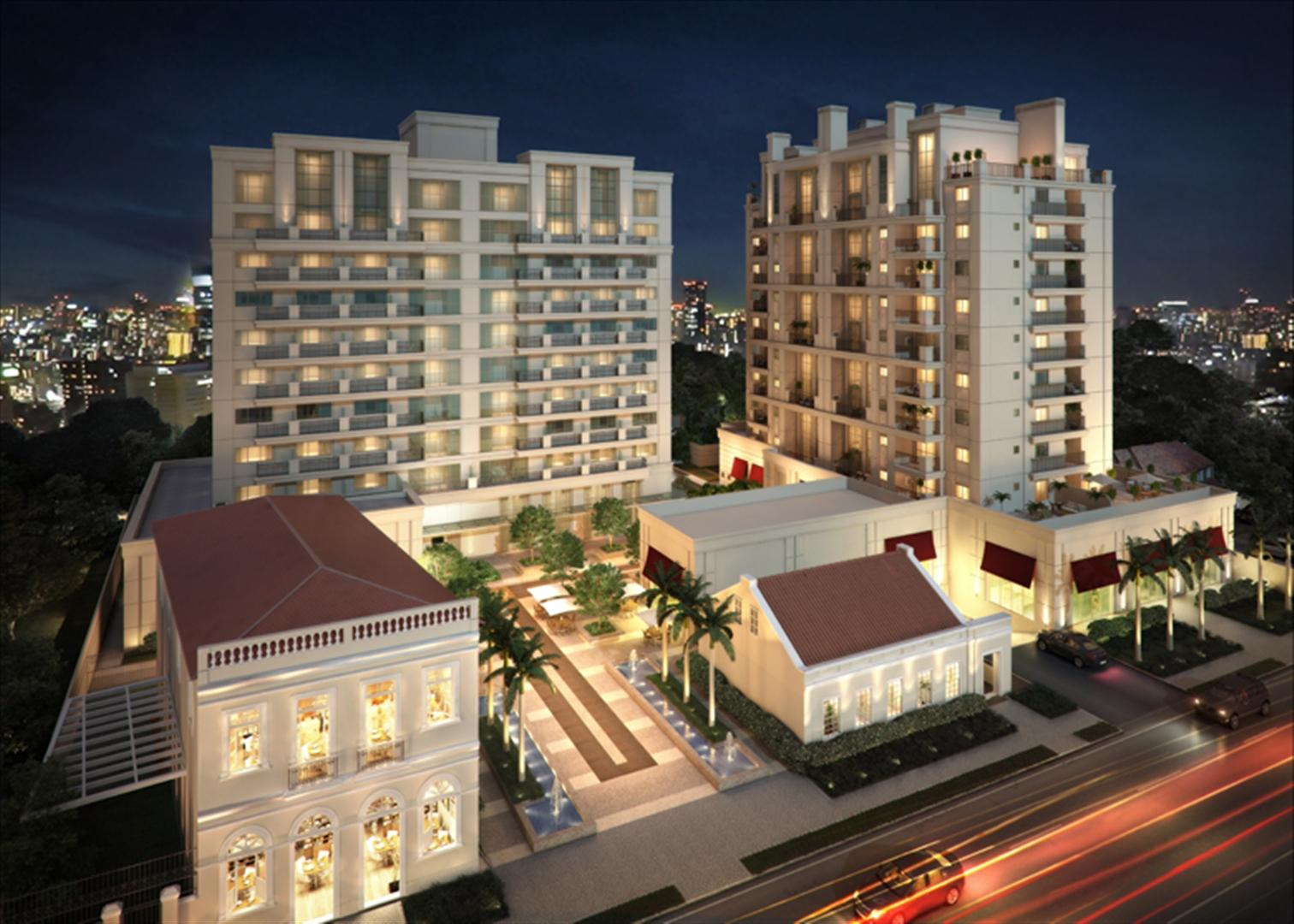 Fachada | 1550 Batel (Home Batel) – Apartamentono  Batel - Curitiba - Paraná
