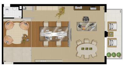 Planta tipo  65 m² (consultoria financeira) | Villa Lobos Office Park – Apartamento no  Alto de Pinheiros - São Paulo - São Paulo