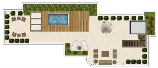 Planta | Vanilla House Garden – Apartamento no  Alto de Pinheiros - São Paulo - São Paulo