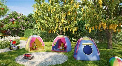 Ilustração Artística do Mini Camping