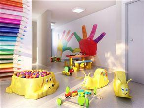 Perspectiva Ilustrada da brinquedoteca
