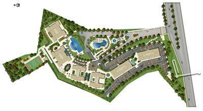 Perspectiva Ilustrada Implantação | Brisas Residencial Clube – Apartamento na  Paralela - Salvador - Bahia