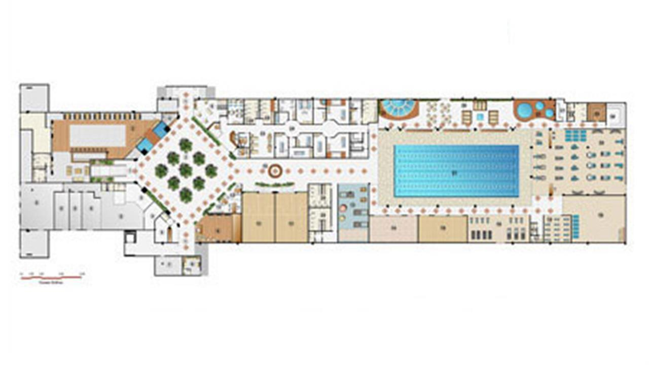 Implantação Clube | Le Parc Residential Resort – Apartamentona  Barra da Tijuca - Rio de Janeiro - Rio de Janeiro
