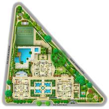 Perspectiva Ilustrada da Implantação | A Reserva – Apartamento na  Chácara Flora - São Paulo - São Paulo