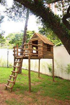 Foto da Casa do Tarzan