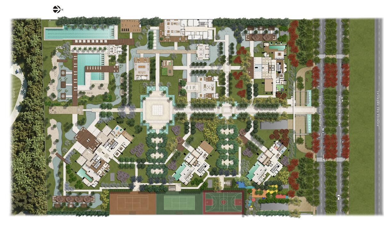 Masterplan | Riserva Golf Vista Mare Residenziale – Apartamentona  Barra da Tijuca - Rio de Janeiro - Rio de Janeiro