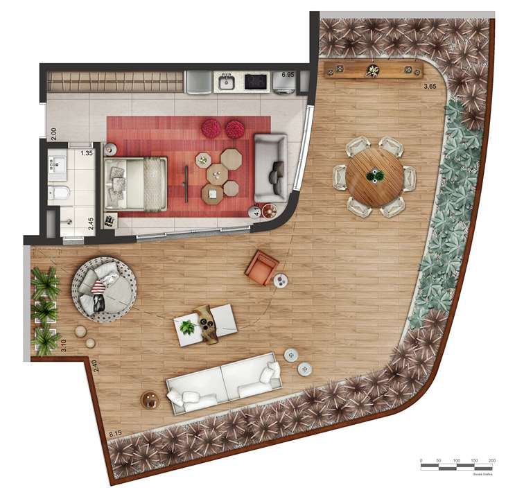Garden P5 | Cyrela by Pininfarina – Apartamentona  Região da Faria Lima - São Paulo - São Paulo