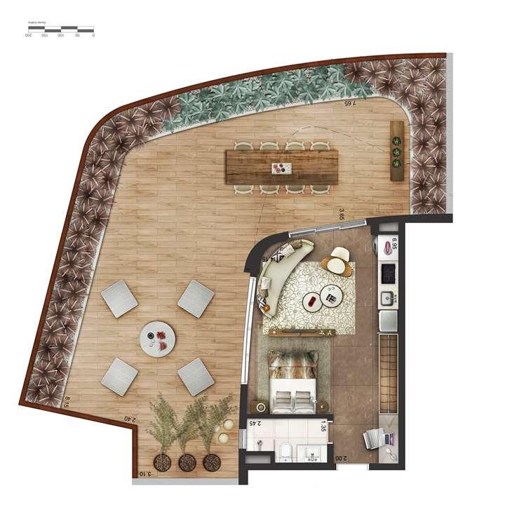 Garden P4 | Cyrela by Pininfarina – Apartamentona  Região da Faria Lima - São Paulo - São Paulo