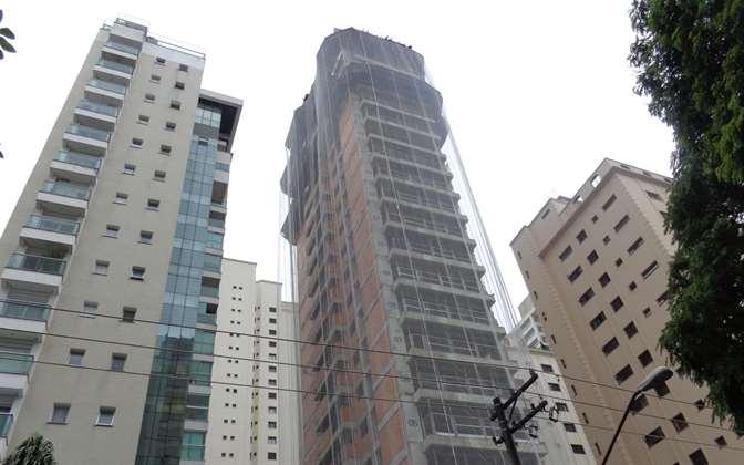 Estrutura   Tom 1102 – Apartamentono  Campo Belo - São Paulo - São Paulo