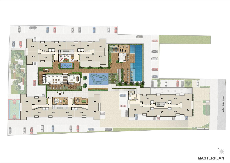 Masterplan | Nobre Norte Clube Residencial – Apartamento no  Cachambi - Rio de Janeiro - Rio de Janeiro