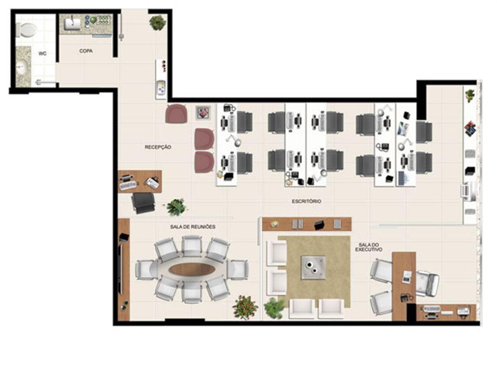Planta 86,78 m² | América Centro Empresarial – Salas Comerciaisna  Mata da Praia - Vitória - Espírito Santo