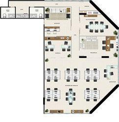 Planta 227,21 m² | América Centro Empresarial – Salas Comerciais na  Mata da Praia - Vitória - Espírito Santo