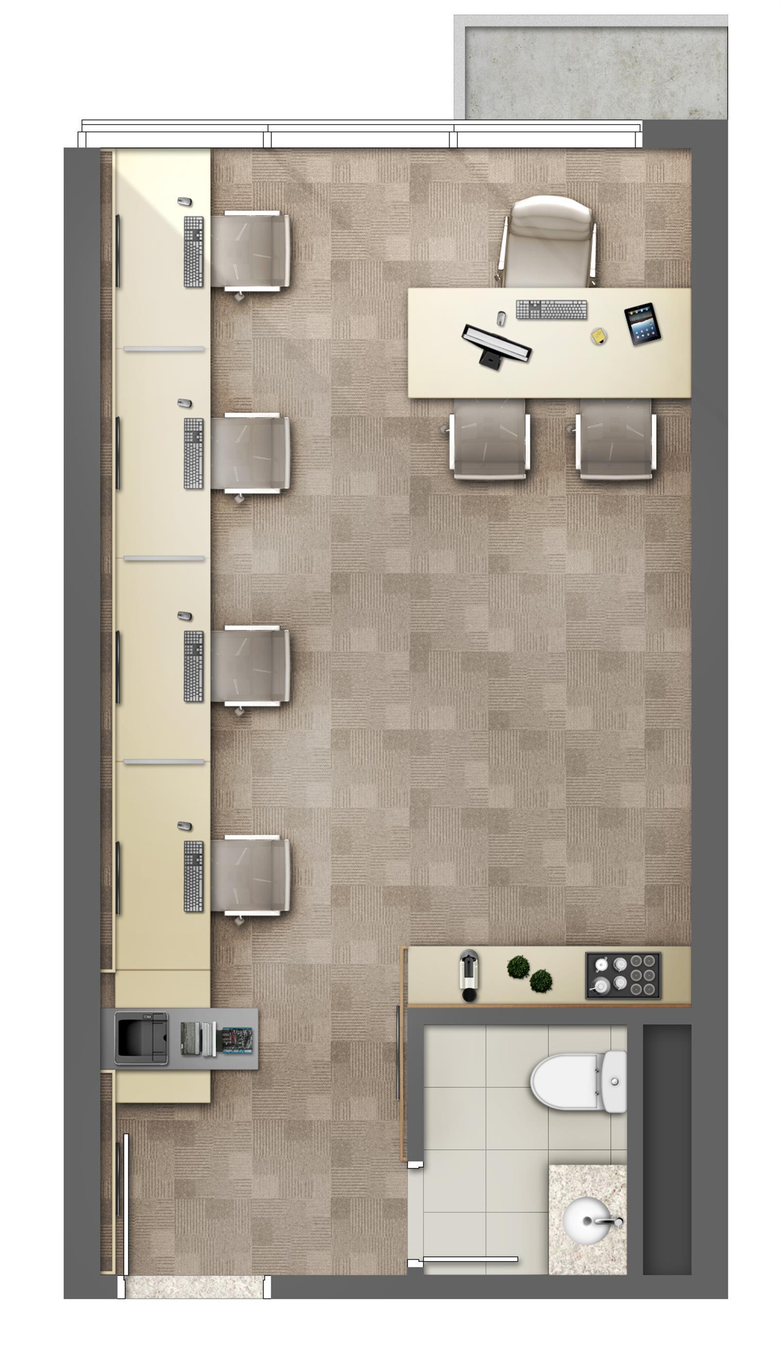 Empresa de Softwares Médicos - Área 31m² - Torre Norte Office | MEDPLEX - Torre Norte – Salas Comerciaisno  Centro do Eixo Hospitalar  - Porto Alegre - Rio Grande do Sul