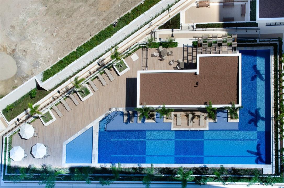 Foto da Vista Aérea do Lazer