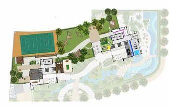 Implantação Mezanino | Reserva Grann Parc – Apartamento no  Jardim Goiás - Goiânia - Goiás