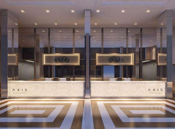 Lobby | AXIS TRIPLE BUSINESS – Salas Comerciaisno  Higienópolis - Porto Alegre - Rio Grande do Sul
