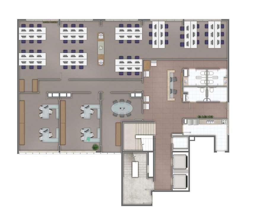 sala Junção 162m² | AXIS TRIPLE BUSINESS – Salas Comerciaisno  Higienópolis - Porto Alegre - Rio Grande do Sul