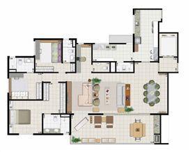 3 suítes living ampliado - 187 m² | Farol da Ilha – Apartamento na  Ponta D'areia - São Luís - Maranhão