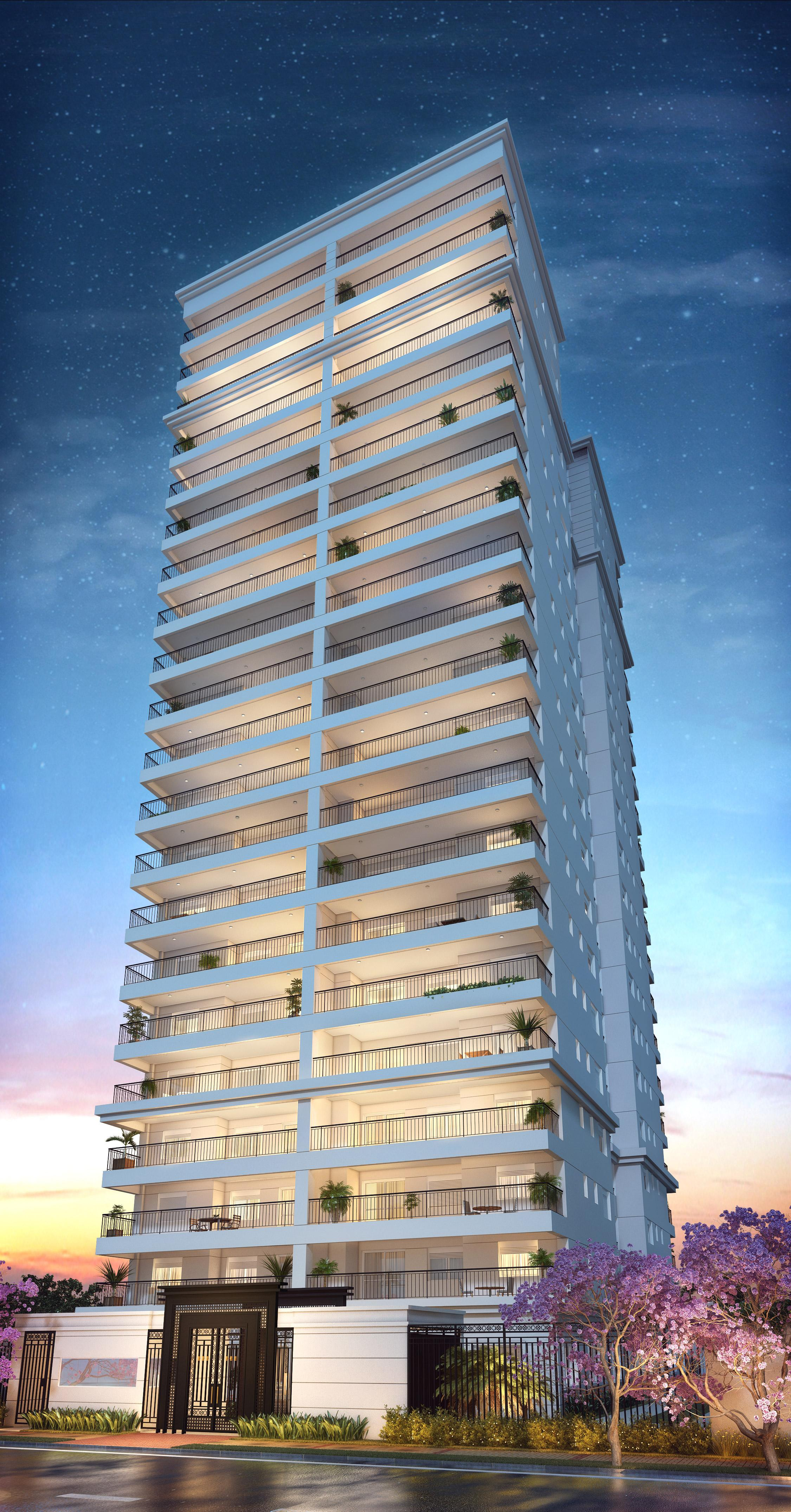 Fachada | Cyrela Gran Cypriani – Apartamentono  Ipiranga - São Paulo - São Paulo