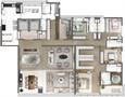 PLANTA TIPO FINAL 1 – 343M² | One Sixty – Apartamento na  Vila Olímpia - São Paulo - São Paulo