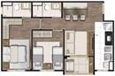 Planta 55m² (2) | Living Wish Lapa – Apartamento na  Lapa - São Paulo - São Paulo