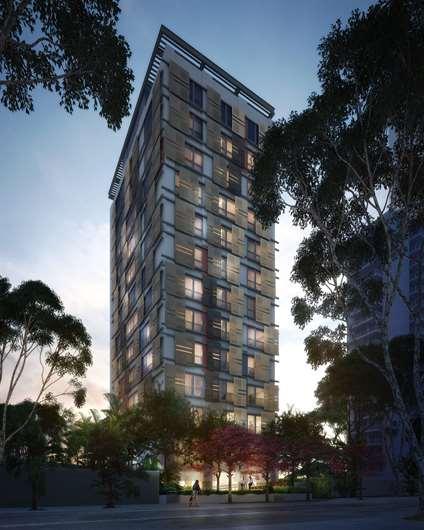 Fachada | Nomad – Apartamentoem  Moema - São Paulo - São Paulo