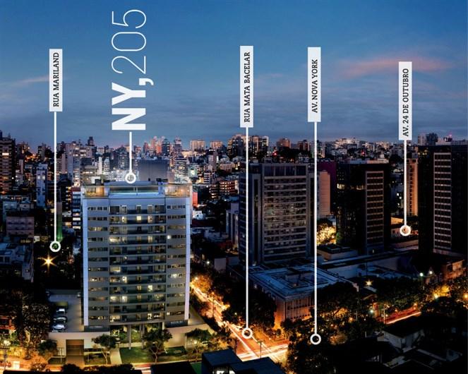 Localização | NY, 205 – Apartamentono  Auxiliadora - Porto Alegre - Rio Grande do Sul