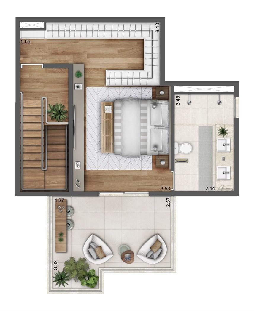 Duplex Superior - 164m²