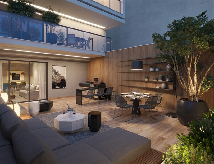 Apartamento | Open Gallery & Design – Apartamentoem  Laranjeiras - Rio de Janeiro - Rio de Janeiro