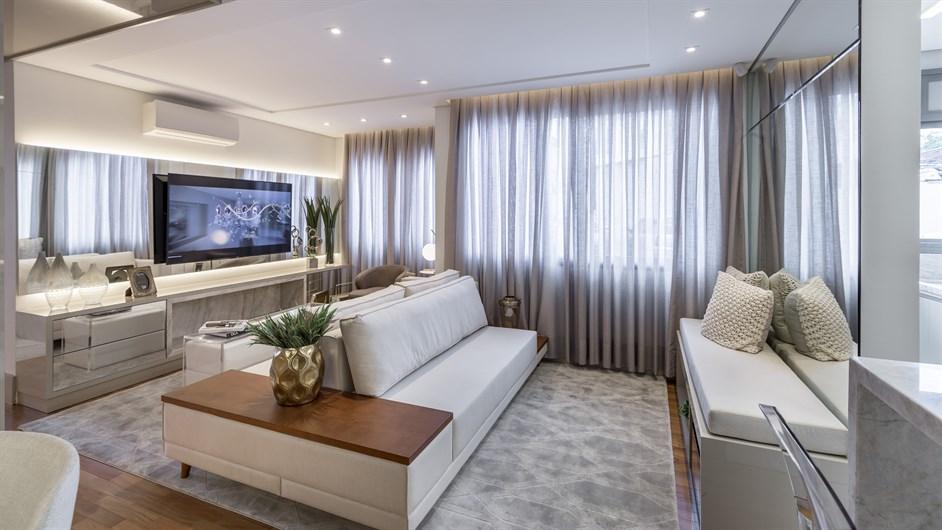 Decorado | Prime – ApartamentoJunto ao   Menino Deus - Porto Alegre - Rio Grande do Sul