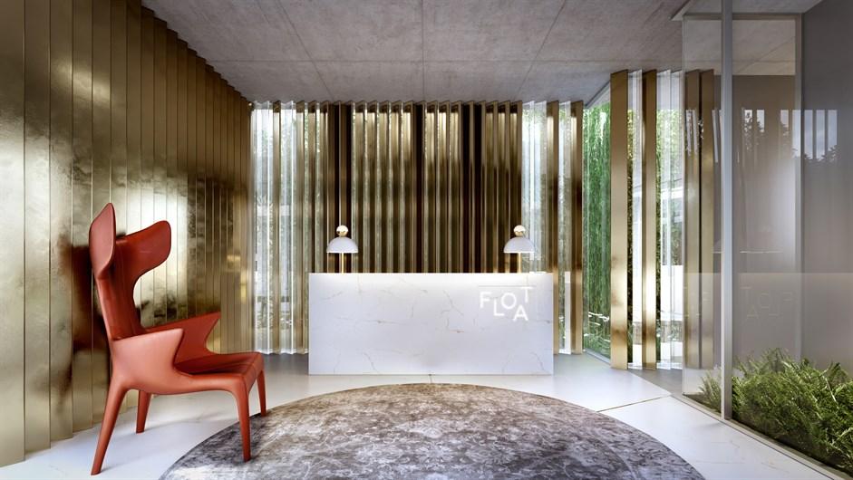 Lobby | FLOAT by Yoo – Apartamentona  Vila Olímpia - São Paulo - São Paulo