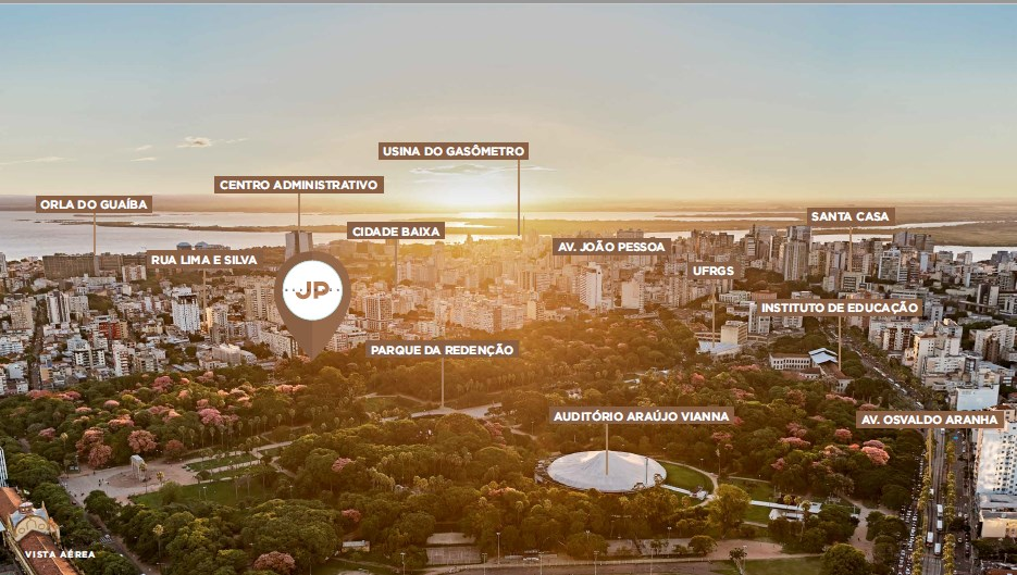 Localização | JP Redenção – Apartamentona  Cidade Baixa - Porto Alegre - Rio Grande do Sul
