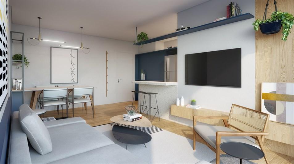 Living | MOMENTO MOTA PAIS – Apartamentona  Vila Ipojuca - São Paulo - São Paulo