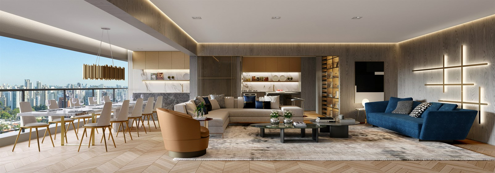 The Residences | Living 158m²