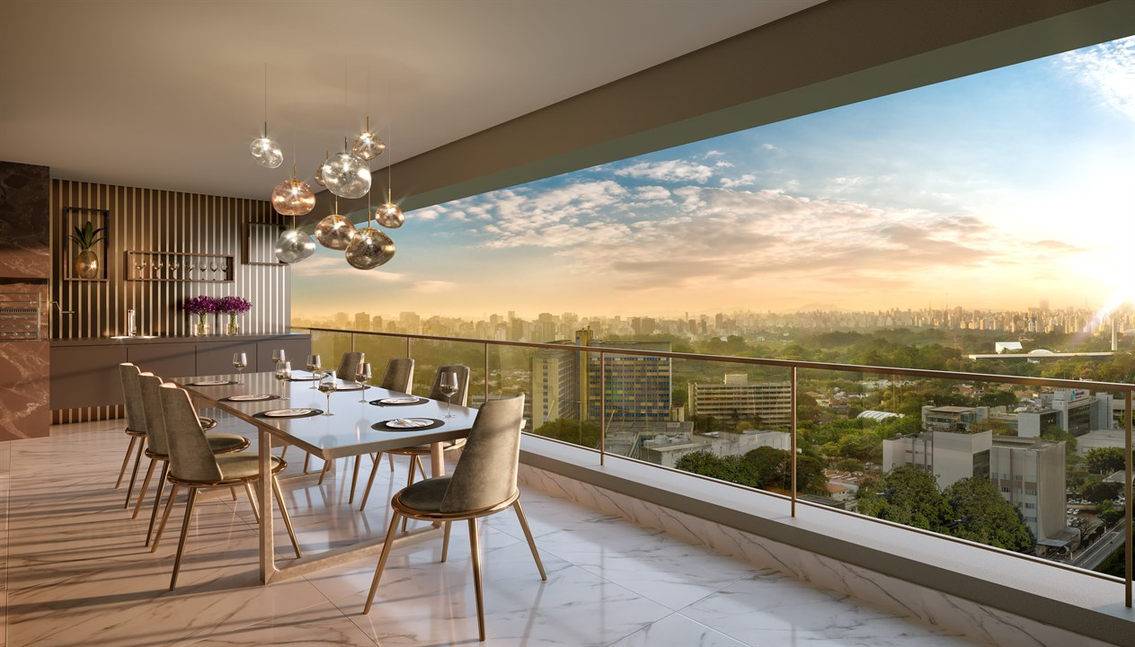 The Residences | Vista do terraco Duplex