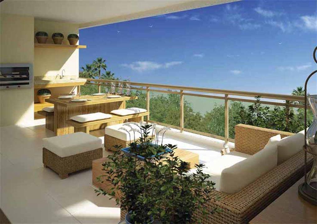Varanda | Provence Horto – Apartamentono  Horto Florestal - Salvador - Bahia