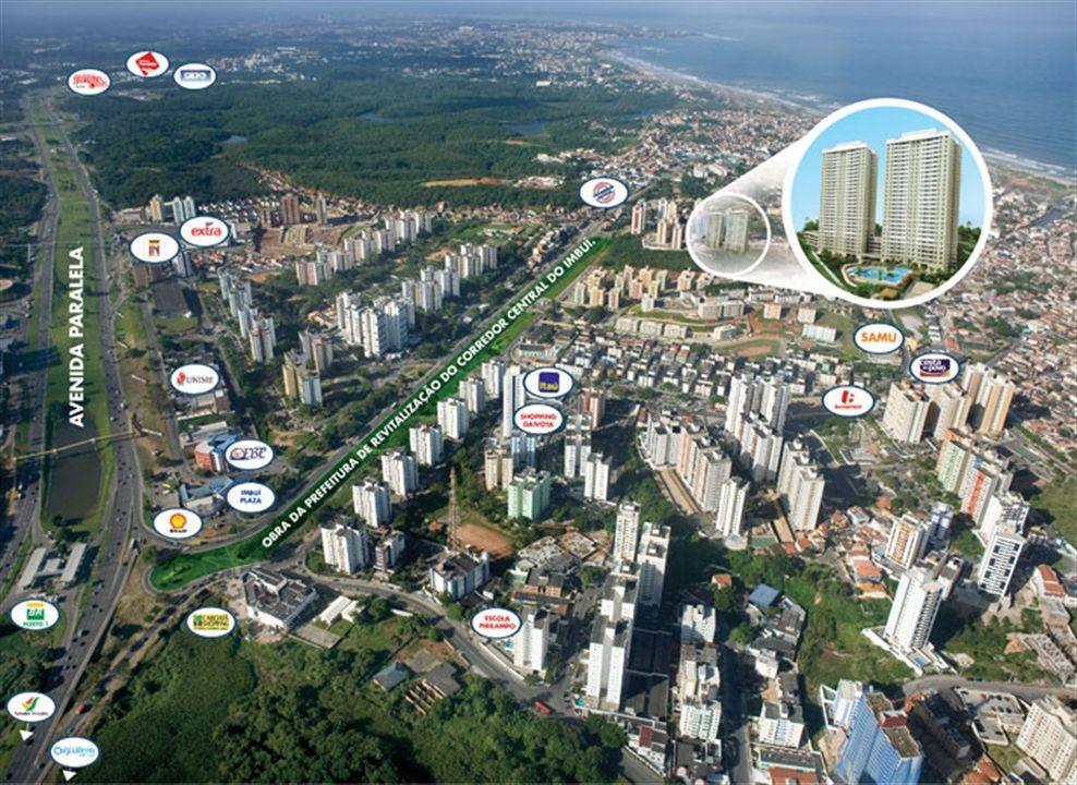 Fachada | Morada Alto do Imbuí – Apartamentono  Alto do Imbuí - Salvador - Bahia