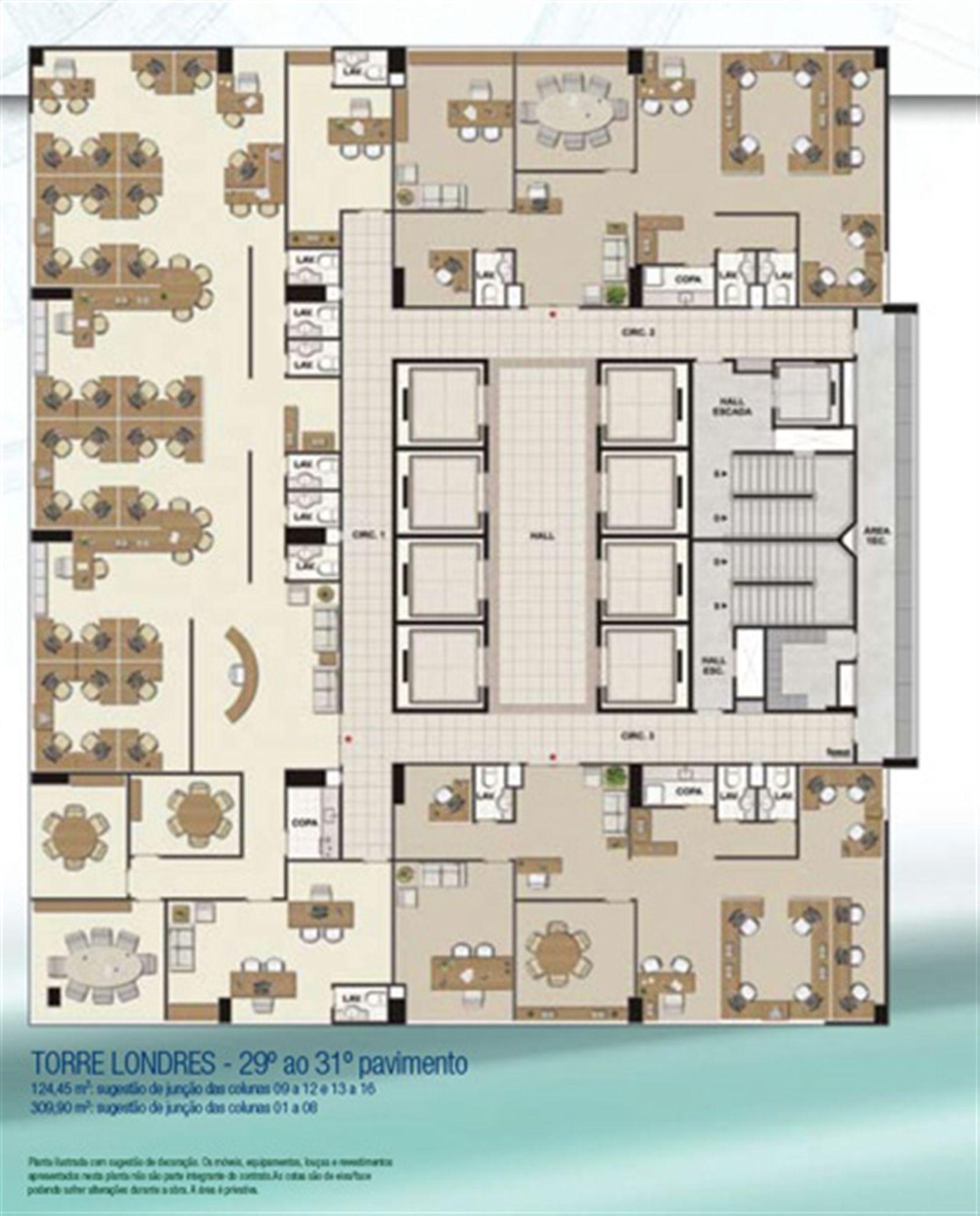 Espaço coorporativo 309,90 m² e 124,45 m² | CEO Salvador Shopping – Salas Comerciaisno  Ao lado do Salvador Shopping - Salvador - Bahia