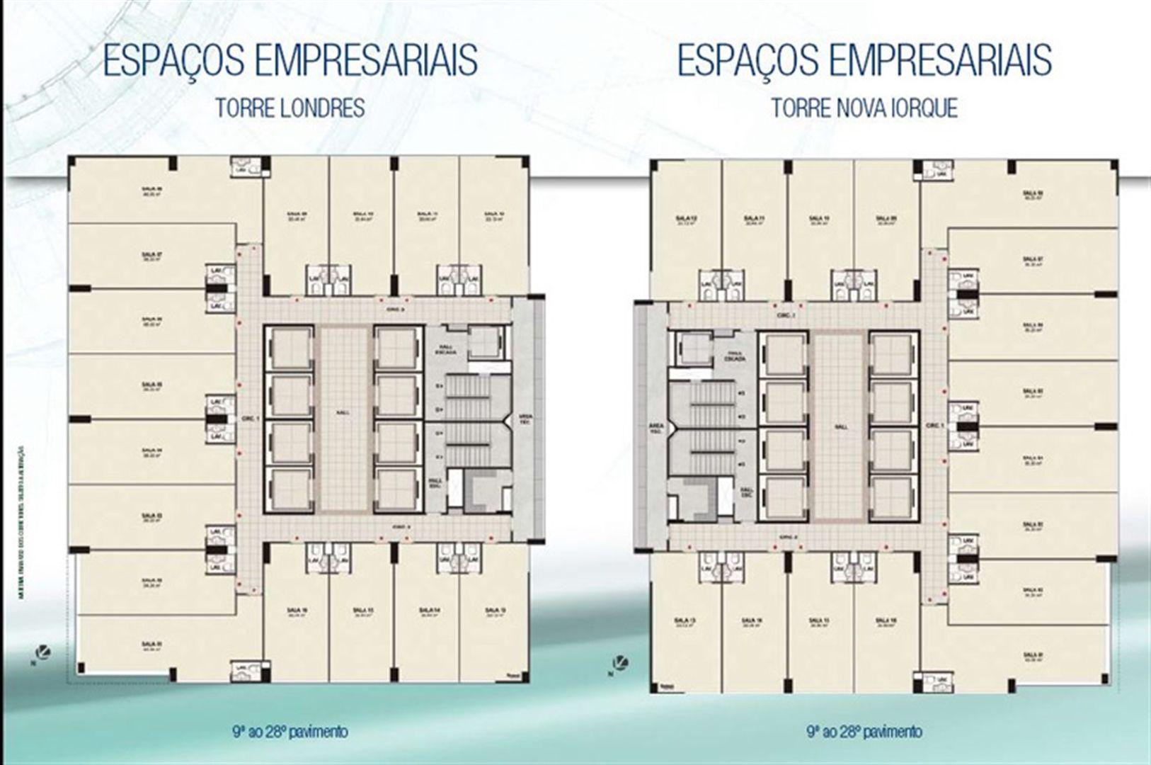 Plantas Torres | CEO Salvador Shopping – Salas Comerciais no  Ao lado do Salvador Shopping - Salvador - Bahia