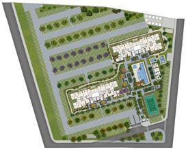 Perspectiva ilustrada da implantação | Sttilo Clube Residence – Apartamento na  Nova Parnamirim - Parnamirim - Rio Grande do Norte