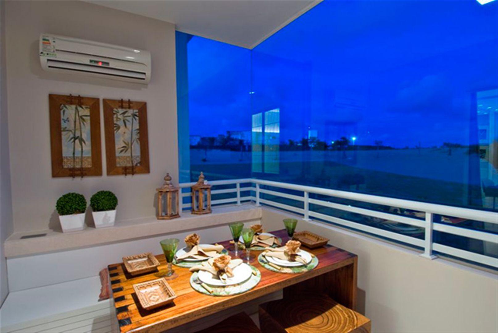 Varanda | L´Acqua Condominium Club – Apartamentoem  Neópolis - Natal - Rio Grande do Norte