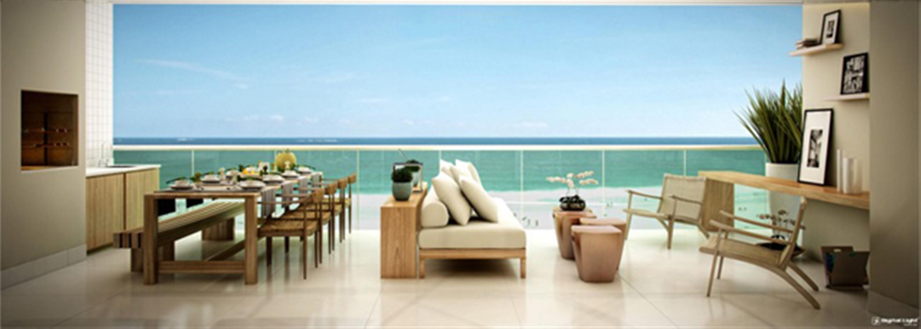 Varanda | Infinity Areia Preta – Apartamentona  Areia Preta - Natal - Rio Grande do Norte