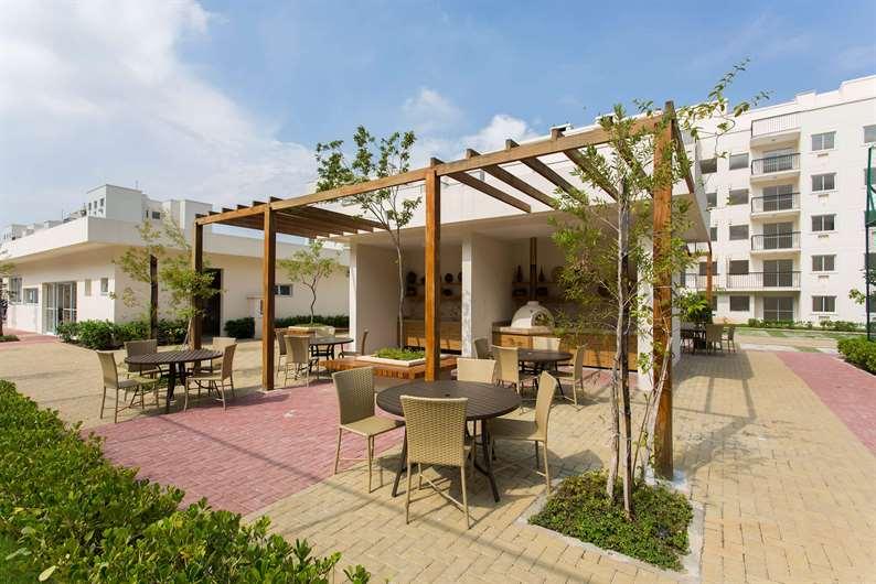 Imóvel pronto | Floris Bosque Residencial – Apartamentoem  Jacarepaguá - Rio de Janeiro - Rio de Janeiro