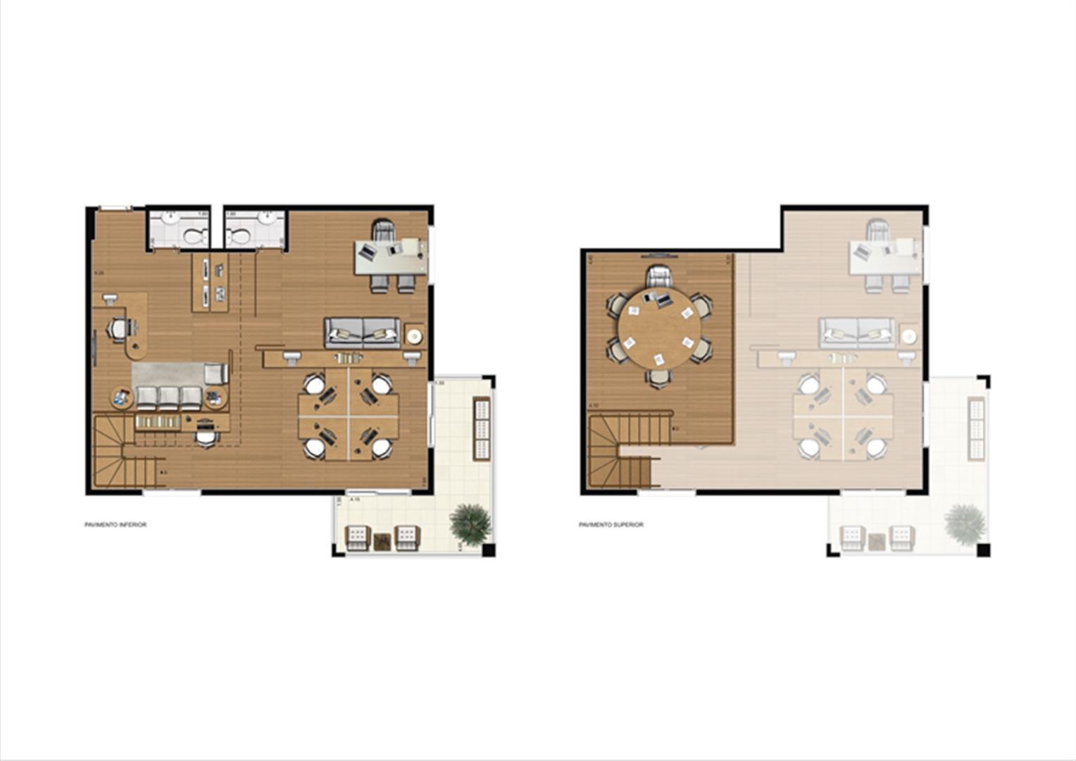 Duplex de 110 m² Final 16 | Luzes da Mooca - Atrio Giorno – Salas Comerciais na  Mooca - São Paulo - São Paulo