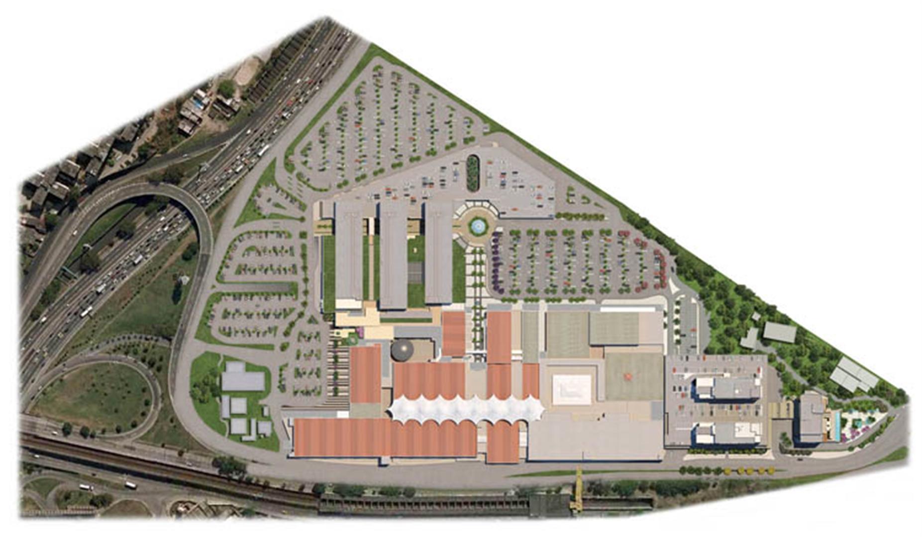 Masterplan Geral | Nova América Offices – Salas Comerciais no  Nova América - Rio de Janeiro - Rio de Janeiro