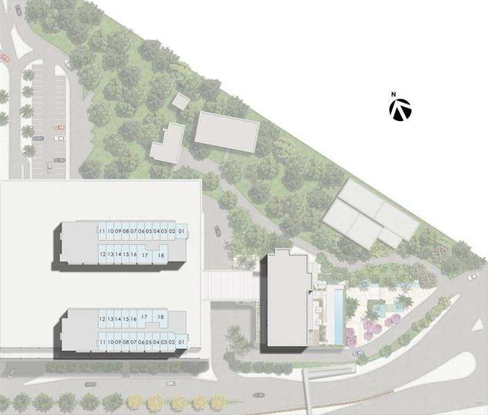 Masterplan Kalunga Torres 1 e 2 | Nova América Offices – Salas Comerciais no  Nova América - Rio de Janeiro - Rio de Janeiro