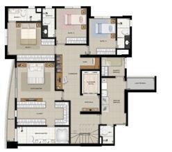 Planta duplex inferior final 1 | Domani LifeStyle – Apartamento no  Setor Marista - Goiânia - Goiás