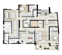 Duplex inferior torre Boulevard 390m² | Domani LifeStyle – Apartamento no  Setor Marista - Goiânia - Goiás