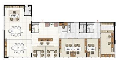 Modelo de Consultoria de Planejamento de Carreira - 195 m² privativos | Aschneider Absolut Business – Salas Comerciais no  Higienópolis - Porto Alegre - Rio Grande do Sul