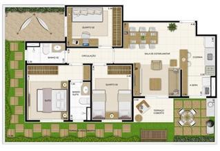 Planta Giardino 119 m² | Novo Sttilo Home Club – Apartamento na  Nova Parnamirim - Parnamirim - Rio Grande do Norte